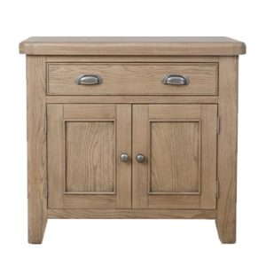 Perth Oak Small Sideboard - Sideboard - Storage - Interior - Oak - Smoked Oak - Perth - Dining - Solid Wood Furniture - Paphos - Cyprus - Steptoes