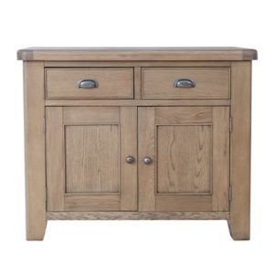 Perth Oak Standard Sideboard - Sideboard - Storage - Interior - Oak - Smoked Oak - Perth - Dining - Solid Wood Furniture - Paphos - Cyprus - Steptoes