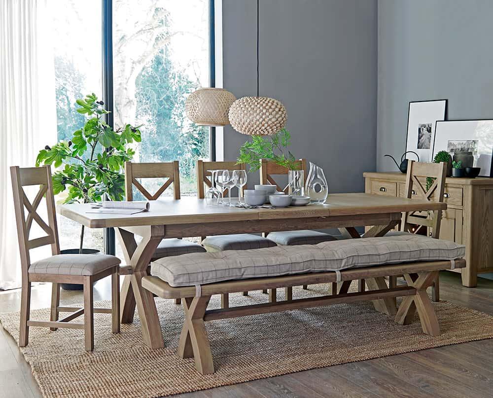 Perth Oak Furniture - Oak - Smoked Oak - Solid Wood Furniture - Dining - Living - Bedroom - Occasional - Furniture - Interior - Design - Paphos - Cyprus - Steptoes