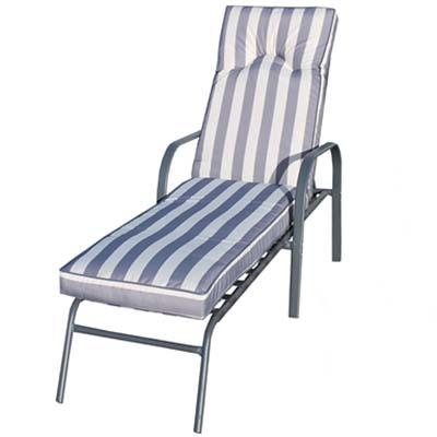 Sunlounger With Cushion - Garden - Balcony - Sunlounger - Cushion - Balcony - Sun - Furniture - Paphos - Cyprus