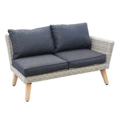 Model Corner Garden Set - Garden - Sofa Set - Aluminium - Rattan - Outdoors - UV - Comfort - Modern - Exterior - Paphos - Cyprus - Steptoes