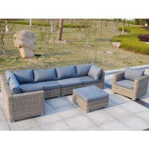 Models Corner Garden Set - Garden - Sofa Set - Aluminium - Rattan - Outdoors - UV - Comfort - Modern - Exterior - Paphos - Cyprus - Steptoes