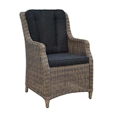 Leon Garden Rattan Dining Chair - Rattan - Dining - Garden - Outdoors - Patio - Garden Furniture - Balcony - Outdoor Dining - Garden Dining - Summer - Furniture - Paphos - Cyprus - Steptoes