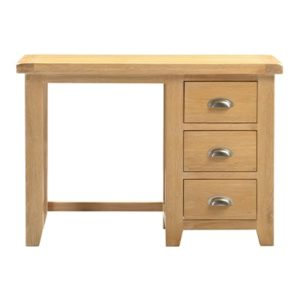 Hartford Natural Dressing Table - Limed Wash - Grey Limed Oak - Drawers - Storage - Oak - Wooden - Bedroom - Furniture - Paphos - Cyprus - Steptoes