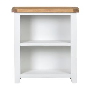 Hartford White Bookcase - Wooden - Oak - Pine - White - Painted - Limed Oak - Bookcase - Shelves - Storage - Lounge - Dining - Books - Furniture - Paphos - Cyprus - Steptoes