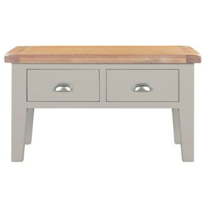 Hartford Grey Coffee Table - Limed Oak - Grey - Grey Painted - Oak - Pine - Wooden - Solid Wood Furniture - Furniture - Bedroom - Living - Lounge - Dining - Paphos - Cyprus - Steptoes