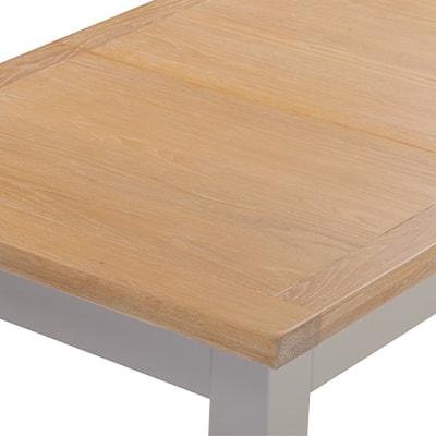 Hartford Grey Small Extending Table - Limed Oak - Grey - Grey Painted - Oak - Pine - Wooden - Solid Wood Furniture - Furniture - Bedroom - Living - Lounge - Dining - Paphos - Cyprus - Steptoes