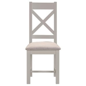 Hartford Grey Dining Chair - Limed Oak - Grey - Grey Painted - Oak - Pine - Wooden - Solid Wood Furniture - Furniture - Bedroom - Living - Lounge - Dining - Paphos - Cyprus - Steptoes