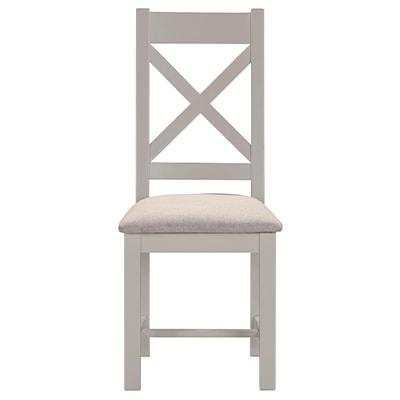 Hartford Grey Dining Chair - Limed Oak - Grey - Grey Painted - Oak - Pine - Wooden - Solid Wood Furniture - Furniture - Bedroom - Living - Lounge - Dining - Paphos - Cyprus - Steptoes