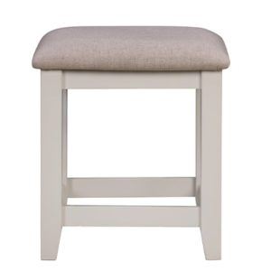 Hartford Grey Stool - Limed Oak - Grey - Grey Painted - Oak - Pine - Wooden - Solid Wood Furniture - Furniture - Bedroom - Living - Lounge - Dining - Paphos - Cyprus - Steptoes