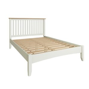 Welby White 4'6 Double Bed - White - White Painted - Pine - Oak - Wooden - House - Home - Interior - Furniture - Bedroom - Living Room - Dining Room - Paphos - Cyprus - Steptoes