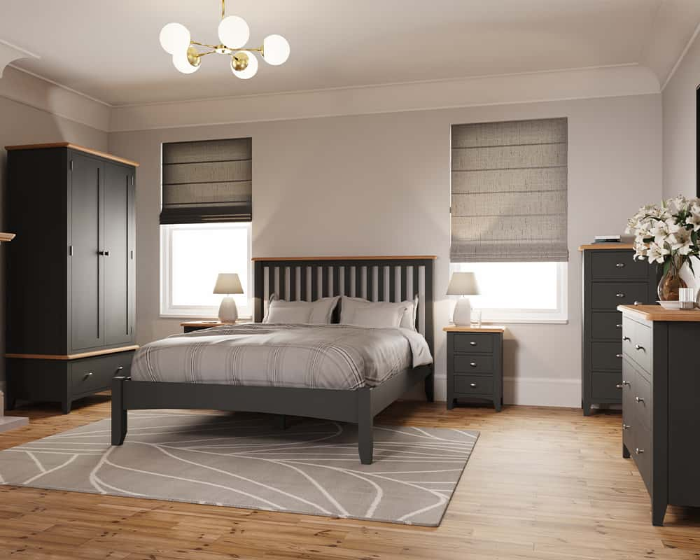 Welby - Grey - White - Oak - Living - Lounge - Dining - Kitchen - Bedroom - Furniture - Oak - Painted Furniture - Painted - Wooden - Wood - Pine - Solid Wood - Steptoes - Paphos - Cyprus