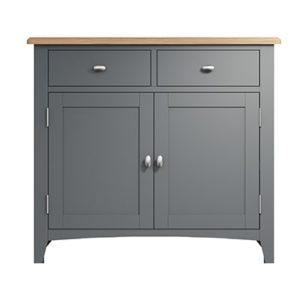 Welby Grey Sideboard - Grey Painted - Oak - Grey - Painted - Wooden - Pine - Oak - Dining - Living - Lounge - Kitchen - Bedroom - Furniture - Modern - Interior Design - Furniture - Cyprus - Steptoes