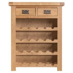 Small-Wine-Rack-storage-Cabinet-drawers-bronze-handles-oak-Dining-wooden-wood-furniture-Steptoes-paphos-cyprus