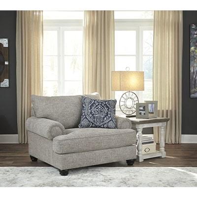 Morren - Sofa Set - Sofa - Fabric Sofa - Grey - Light Grey - Ashley - Comfort - Lounge - Living - Cushions - Furniture - Paphos - Cyprus - Steptoes