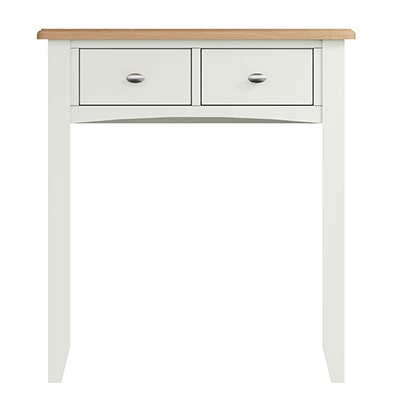 Welby White Dressing Table - White - White Painted - Pine - Oak - Wooden - House - Home - Interior - Furniture - Bedroom - Living Room - Dining Room - Paphos - Cyprus - Steptoes-