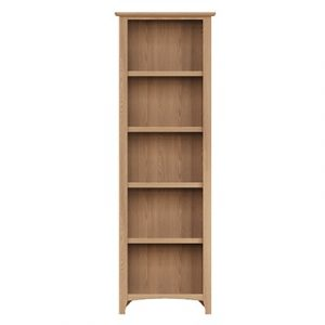 Welby Natural Large Bookcase - Oak - Pine - Wooden - Natural oak - Natural Wood - Farmhouse - Interior - Living - Dining - Lounge - Kitchen - Bedroom - Interior - Furniture - Wooden - Steptoes - Paphos - Cyprus