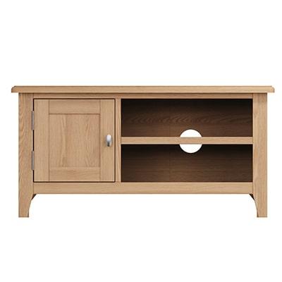 Welby Natural Standard TV Unit - Oak - Pine - Wooden - Natural oak - Natural Wood - Farmhouse - Interior - Living - Dining - Lounge - Kitchen - Bedroom - Interior - Furniture - Wooden - Steptoes - Paphos - Cyprus