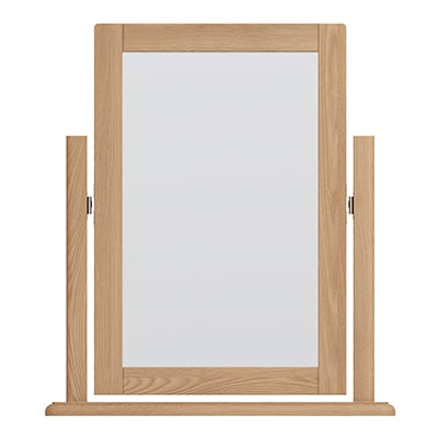 Welby Trinket Mirror - Oak - Pine - Wooden - Natural oak - Natural Wood - Farmhouse - Interior - Living - Dining - Lounge - Kitchen - Bedroom - Interior - Furniture - Wooden - Steptoes - Paphos - Cyprus