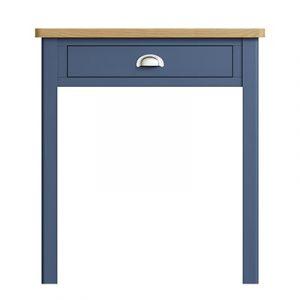 Halifax Blue Dressing Table - Dark Blue - Blue Painted - Blue - Oak - Wooden - Wood - Pine - Solid Wood - Living - Lounge - Dining - Kitchen - Bedroom - Furniture - Steptoes - Paphos - Cyprus