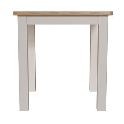 Halifax Fix Top Dining Table - dove grey - grey - painted - wooden - wood - oak - wicker - seagrass - basket - drawer - lounge - dining - living - kitchen - furniture - paphos - cyprus