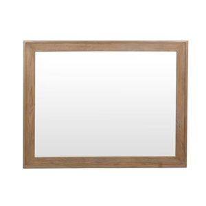 Perth Oak Wall Mirror - Smoked Oak - Oak - Solid Wood Furniture - TV Unit - Storage - Interior - Lounge - Living - Furniture - Steptoes - Paphos - Cyprus