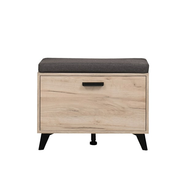 Umbria Hall Unit - Grey Limed Oak - Hall Unit - Occasional - Flatpack - MDF - Furniture - Modern - Stylish - Oak - Black - Living - Dining - Drawers - Doors - Steptoes - Paphos - Cyprus