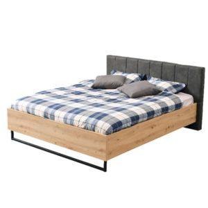 Sardinia 160cm King Size Bed - Oak - Artisan Oak - Modern - Bedroom - Furniture - Flatpack - Steptoes - Paphos - Cyprus