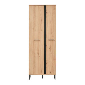 Sardinia Large Hall Unit - Oak - Artisan Oak - Hall Unit - Cupboard - Storage - Doors - Modern - Flatpack - Steptoes - Paphos - Cyprus