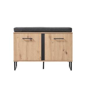 Sardinia Hall Unit - Oak - Artisan Oak - Hall Unit - Cupboard - Storage - Doors - Modern - Flatpack - Steptoes - Paphos - Cyprus