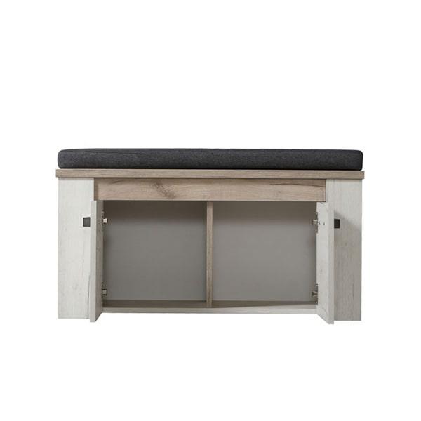 Kent Hall Unit - Basket - Kent - Hall Unit - Storage - Unit - Flat Pack - White Wash - Occassional - Flatpack - Modern - Paphos - Steptoes - Cyprus